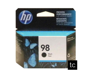 HP 98 original black inkjet cartridge