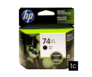 HP 74XL original black high yield inkjet cartridge