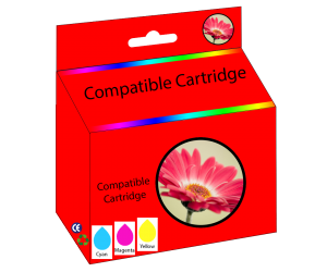 57 compatible tri-color cyan magenta yellow inkjet cartridge  for HP printers