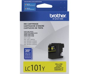 Brother LC101Y original yellow inkjet cartridge