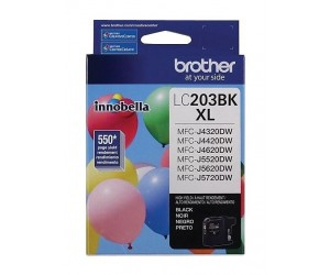 Brother LC203BK original black high yield inkjet cartridge