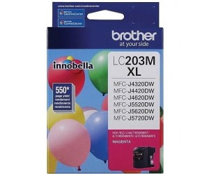 Brother LC203M original magenta high yield inkjet cartridge