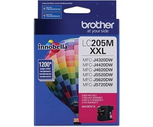 Brother LC205M original magenta super high yield inkjet cartridge