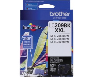 Brother LC209BKS original black super high yield inkjet cartridge