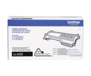 Brother TN-450 original black high yield toner cartridge