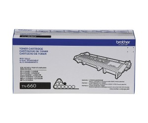 Brother TN-660 original black high yield toner cartridge