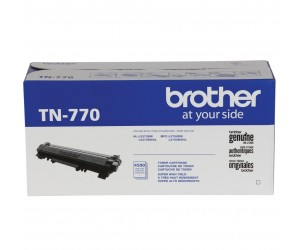 Brother TN770 original black extra high yield toner cartridge