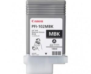 Canon PFI-102MBK Matte Black OEM Inkjet Cartridge