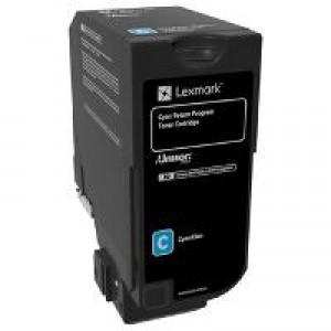 Lexmark CS920 , CX920 Cyan OEM Toner Cartridge