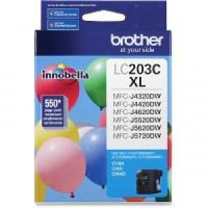 Brother LC203C Cyan OEM Inkjet Cartridge