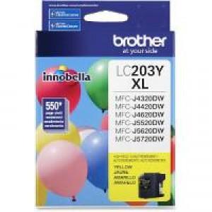 Brother LC203Y Yellow OEM Inkjet Cartridge