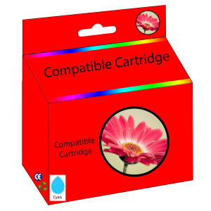 New Compatible Economy LC203C Cyan Inkjet Cartridge for Brother Printers
