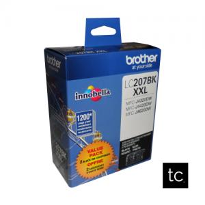 Brother LC2072PKS Black OEM Inkjet Cartridge Dual Pack