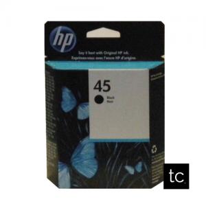 HP 45 Black OEM Inkjet Cartridge