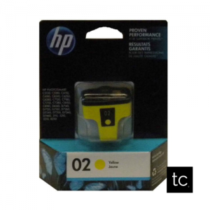 HP #02 Yellow OEM Inkjet Cartridge