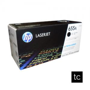 HP 655A Black OEM Toner Cartridge