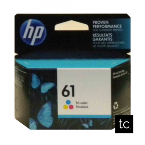 HP 61 Tri-color Cyan Magenta Yellow OEM Inkjet Cartridge