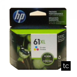 HP 61XL Tri-color Cyan Magenta Yellow OEM Inkjet Cartridge