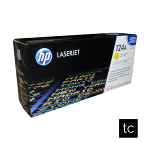 HP 124A Yellow OEM Toner Cartridge