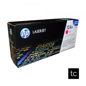 HP 124A Magenta OEM Toner Cartridge