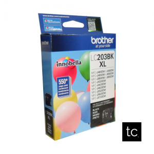 Brother LC203BK Black OEM Inkjet Cartridge