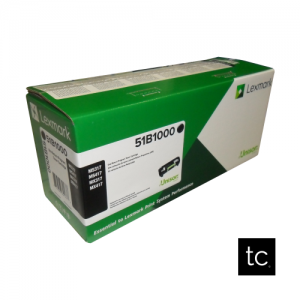 Lexmark 511 Black OEM Toner Cartridge