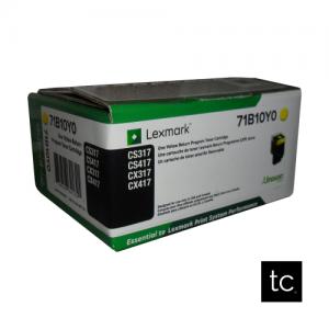 Lexmark 711Y Yellow OEM Toner Cartridge
