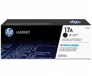 HP 17A original black toner cartridge