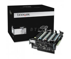 Lexmark 700P original cyan magenta yellow and black photoconductor unit