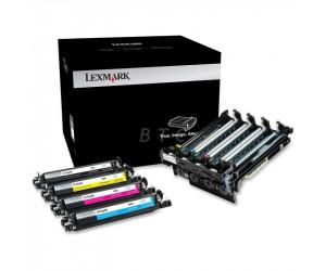 Lexmark 700Z5 original cyan magenta yellow and black imaging kit