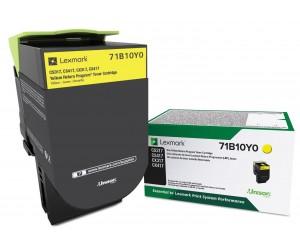 Lexmark 711Y original yellow toner cartridge