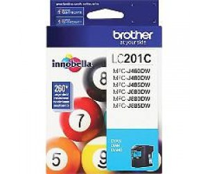 Brother LC201C original cyan inkjet cartridge