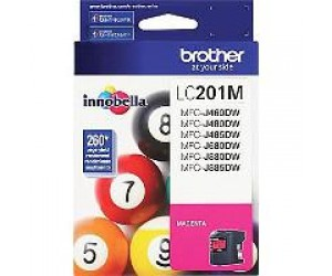 Brother LC201M original magenta inkjet cartridge