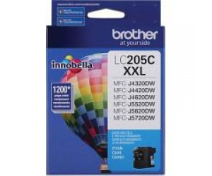 Brother LC205C original cyan super high yield inkjet cartridge