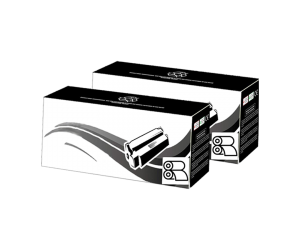 19A unité de tambour 2- pack compatible noire pour imprimantes HP
