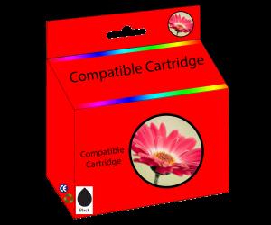 63XL cartouche d'encre compatible noire haute capacité pour imprimantes HP
